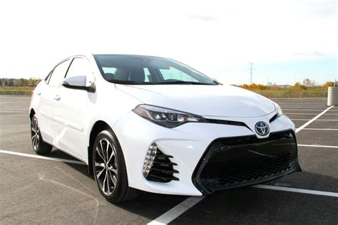 Toyota Xse 2017 Toyota Corolla Xse Review Sherwood Park Toyota