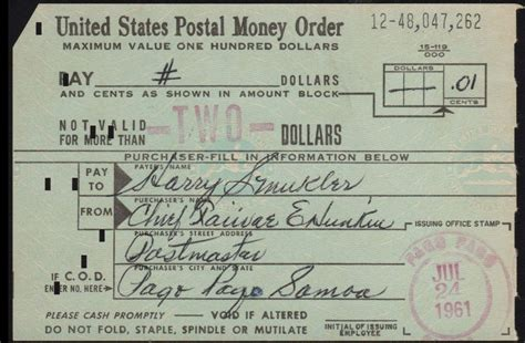 Money Order Post Office by Kennedys And King U S Postal Money Orders