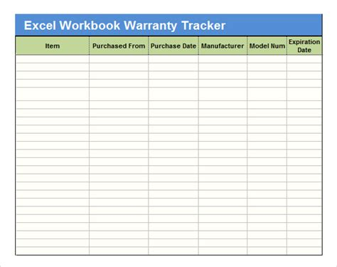 excel workbook templates sle excel tracking 7 documents in excel