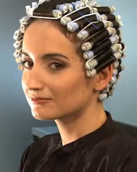 perm at old ladies hairdressers sissyperm photo ready for the perm solution pinterest