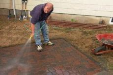 how to make a patio out of pavers 1000 ideas about interlocking pavers on paver