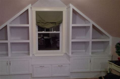 Search The Upstairs Drawers Of A House by Attic Shelves Home