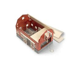 schleich scheune 42028 how to build barns real wood barn