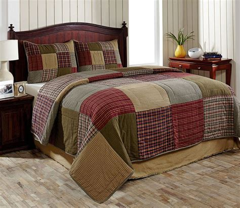 pc bryan country king size quilt set  olivias heartland