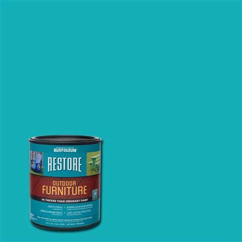 home depot exterior paint quart rust oleum restore 1 qt seaside outdoor furniture