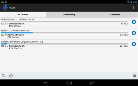 torrent downloader for android free scaricare i torrent su android con l app ufficiale di vuze