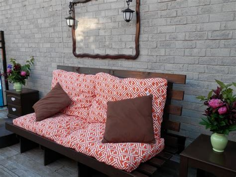 Outdoor Futon Cushions by A Garage Sale Find Sized Futon Raised Up For An