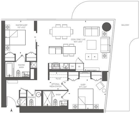 one bloor floor plans 1 bloor street east toronto one bloor st condo