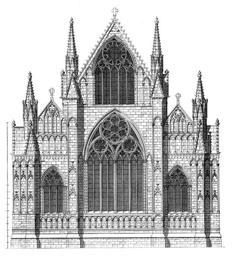 House Plans With Elevations And Floor Plans by Medieval Lincoln Minster Plans And Drawings