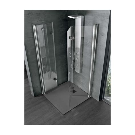 porta cabina doccia box doccia rea 2 0 due porte a libro soffietto cristallo