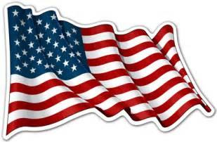 Us State Flag Outlines by Vinilos Decorativos De La Bandera De Usa En Teleadhesivo