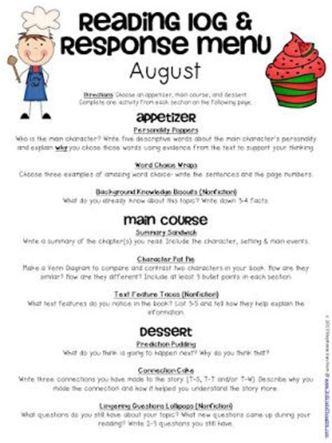 learning menu template best 25 learning log ideas on sentence