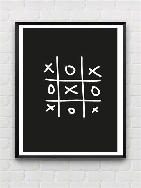 printable wall art pdf printable poster xo instant download monochrome print