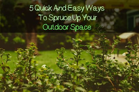 10 ways to up your outdoor space with string lights 5 quick and easy ways to spruce up your outdoor space