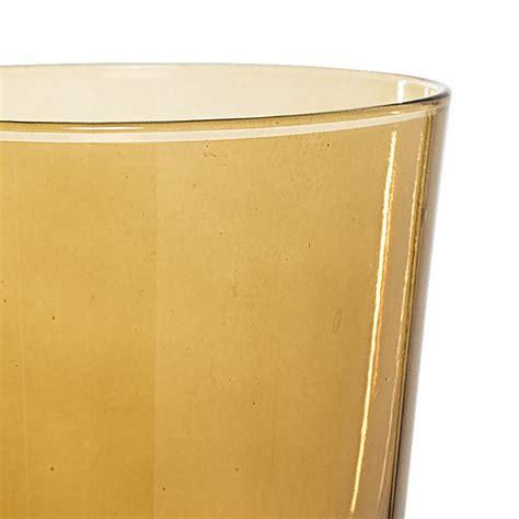 Buy Bloomingville Brown Glass Bathroom Tumbler Amara