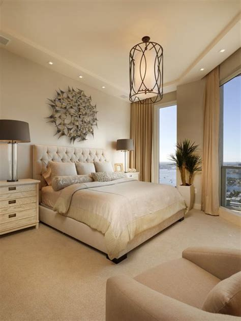 beige master bedroom transitional bedroom design ideas renovations photos