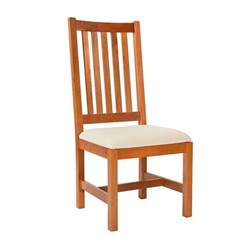 wooden dining room chairs grand mission dining room chair natural cherry real solid wood usa made