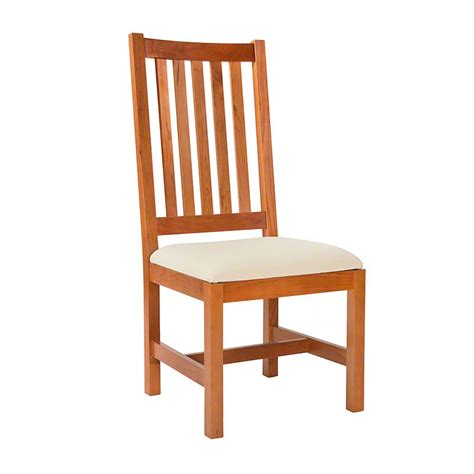 dining room wood chairs grand mission dining room chair natural cherry real