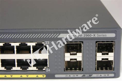 Cisco Catalyst Ws C2960x 24ps L plc hardware cisco ws c2960x 24ps l catalyst 2960 x