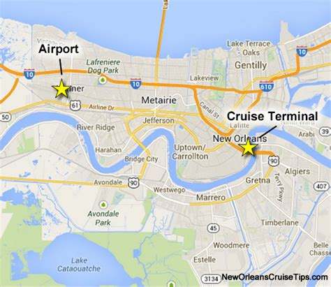 Tampa Port Car Rental New Orleans Cruise Port Location Map New Orleans Louis