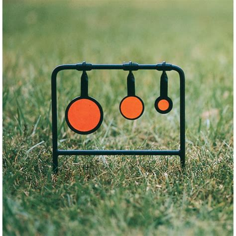 swinging targets caldwell 174 swinging metal targets