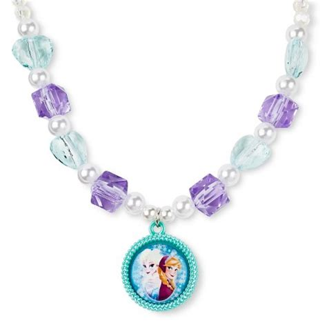 toddler frozen necklace bracelet set multi