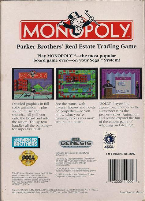 Promo Monopoly Monopoli The Original monopoly 1996 macintosh box cover mobygames
