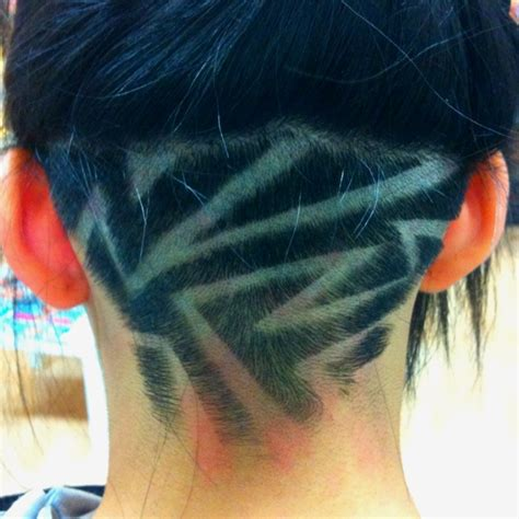 pattern undercut 12 nape undercut hairstyle designs strayhair