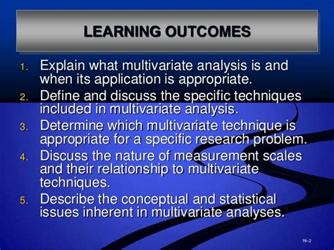 Mba Course Outcomes by Mba2216 Week 11 Data Analysis Part 03 Appendix