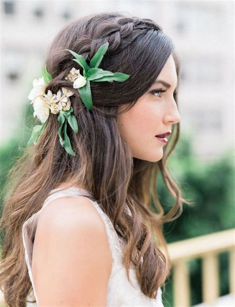 Wedding Hair Up With Braid by 22 Half Up And Half Wedding Hairstyles To Get You