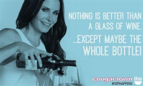 Cougar Town Memes - cougar town wine meme