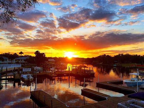 public boat r homosassa sunset over river picture of homosassa riverside resort
