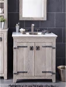 30 quot americana vanity in driftwood bathroom vanities and