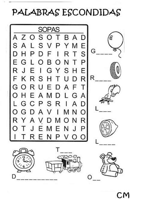 sopa de letras para primaria paraprimariacom educando con amor sopa de letras