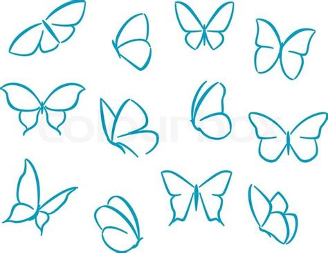 butterfly tattoos small simple 20 best small butterfly outline drawing images on