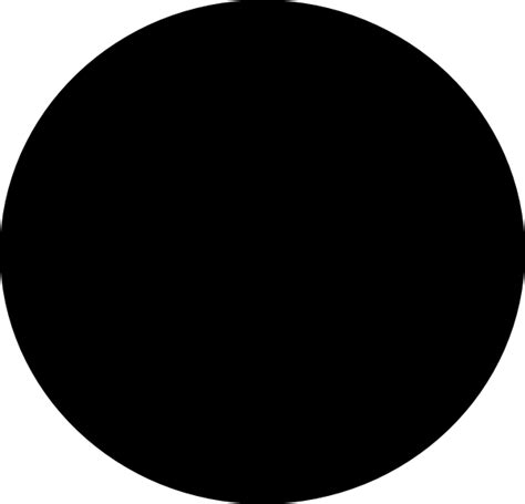 Circle Black a black circle clip at clker vector clip