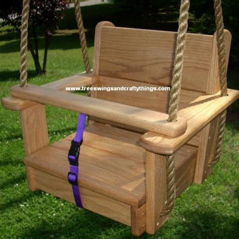 childs wooden swing childs tree swing diy adorable tree swings fall home decor