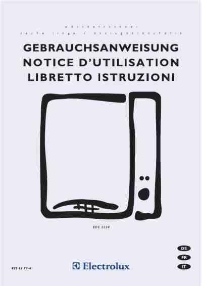 Wäschetrockner Auf Waschmaschine 2963 by Electrolux Edc3250w 195 164 Schetrockner Handbuch In