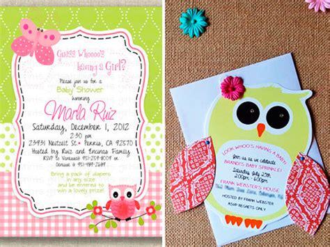 hacer tarjetas de baby shower de buho 10 invitaciones para baby shower de b 250 hos tarjetas para