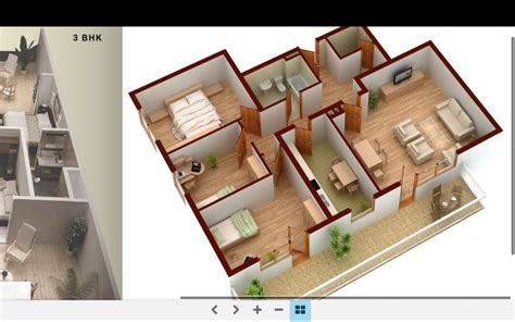Home Design Planner 3d 3d Home Plans Android Apps On Play