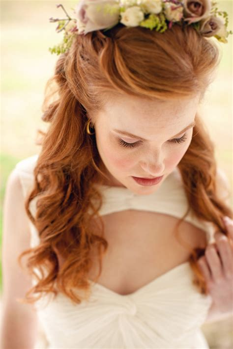 Celtic Wedding Hairstyles | celtic countryside wedding souder photography 1