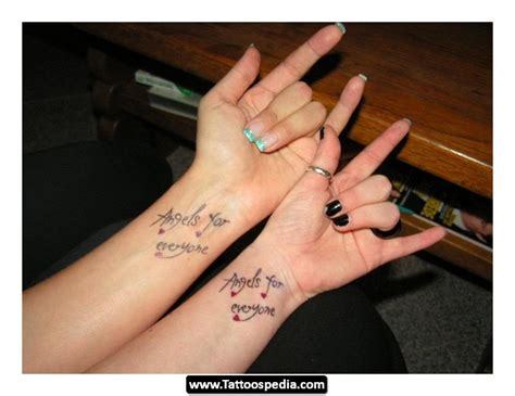 small tattoos for friends small friendship tattoos tattoospedia