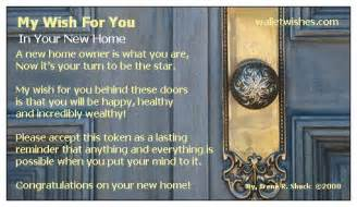 wish home new home wishes quotes quotesgram