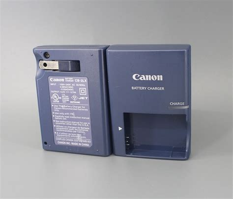 canon cb 2lx battery charger genuine canon cb 2lx nb 5l original battery charger