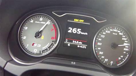 Audi S3 Speed by Audi S3 8v Acceleration 0 266km H Top Speed