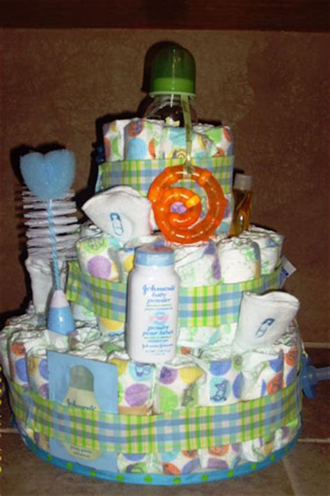 Baby Shower Necessities by This Baby Necessities Cake Has All The Baby