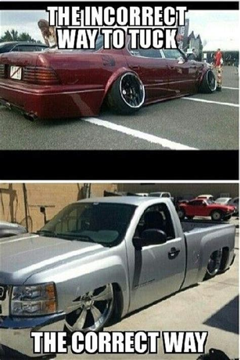 Slammed Car Memes - 7 best mini trucks memes images on pinterest