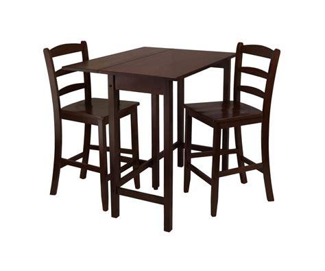 winsome lynden drop leaf dining table winsome wood 94334 lynnwood three piece drop leaf high