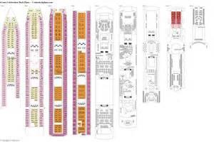 costa pacifica deck plan costa celebration deck plans diagrams pictures
