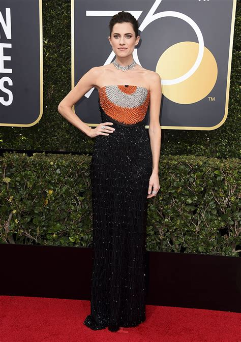 Dress Allison allison williams dress at golden globes stuns in